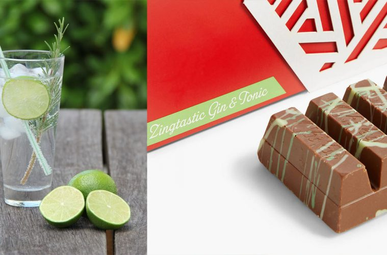 gin and tonic kit kat