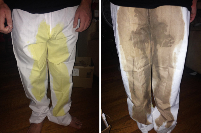 goosh pee and poo pants amazon customer photo