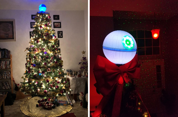 hallmark keepsake death star christmas tree topper customer photos
