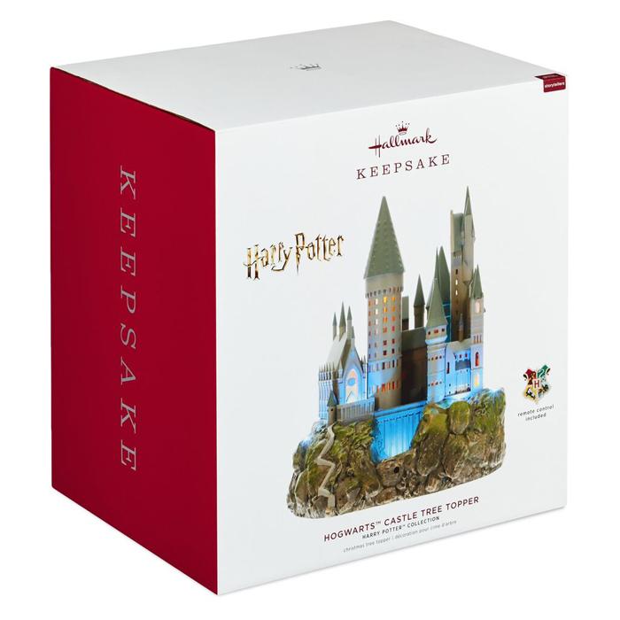 harry potter hogwarts tree topper box
