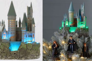 hogwarts tree topper