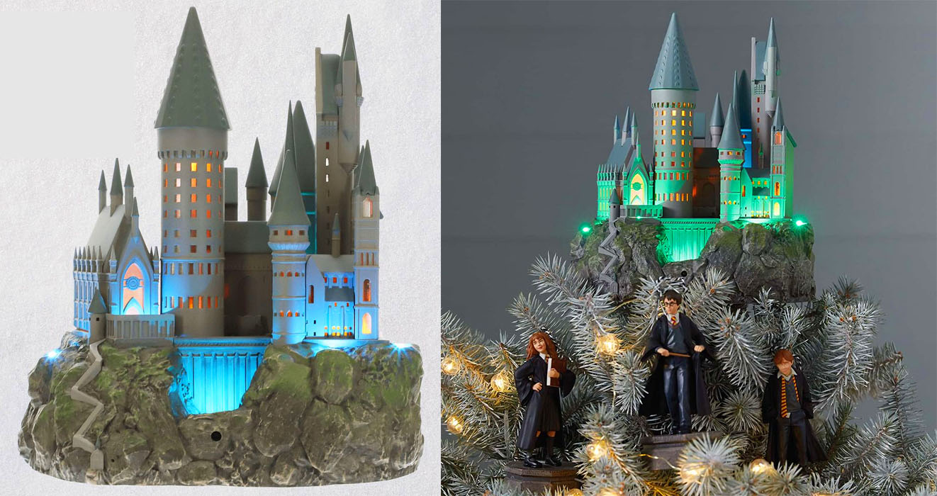 This Hogwarts Tree Topper Is Perfect For Harry Potter Fans