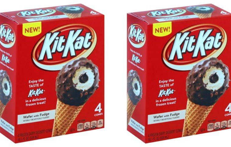 kitkat ice cream cones