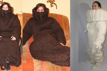 knitted onesie