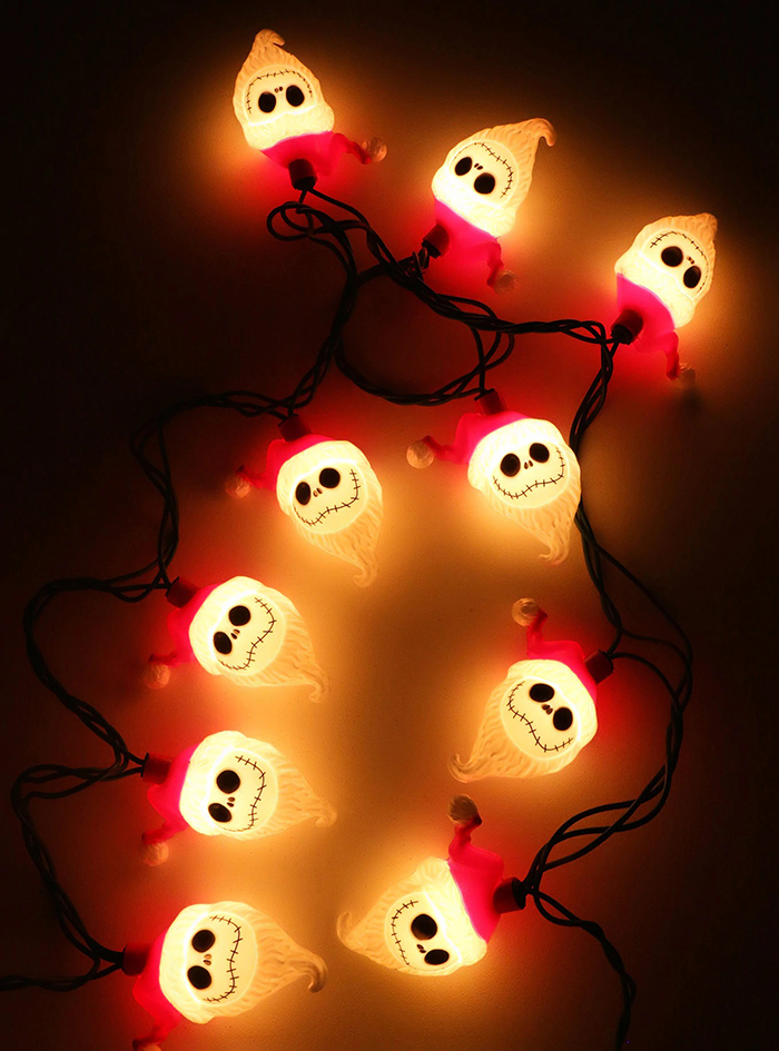 lit jack skellington lights