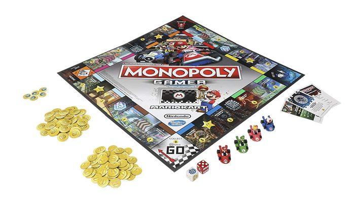 mario kart monopoly