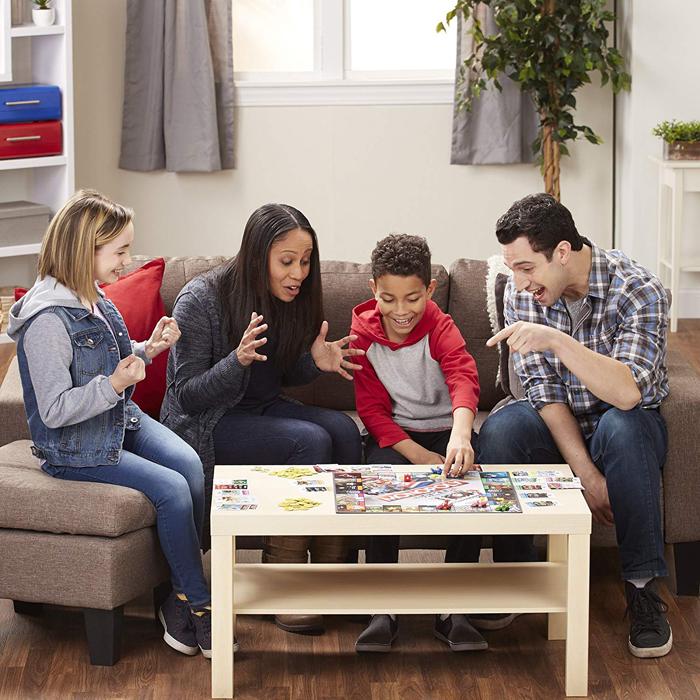 mario kart monopoly family game