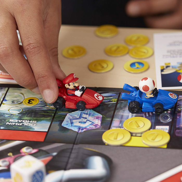 mario kart monopoly tokens