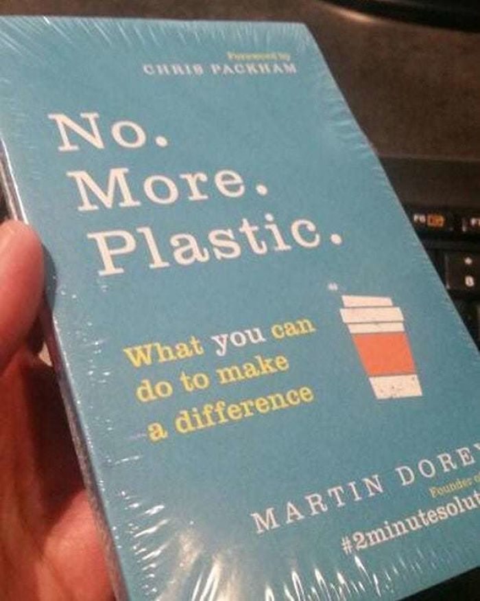 no more plastic book wrapped in plastic ironic moments