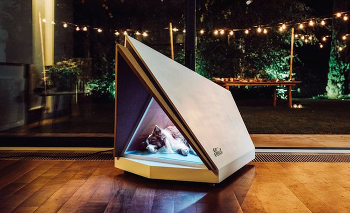 noise-cancelling dog kennel by ford