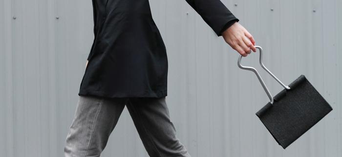 office binder clip bag