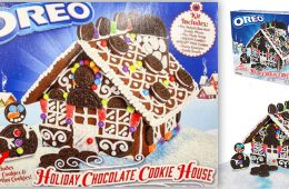 oreo holiday chocolate cookie house