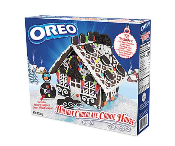 oreo holiday cookie house kit