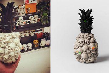 pineapple skulls