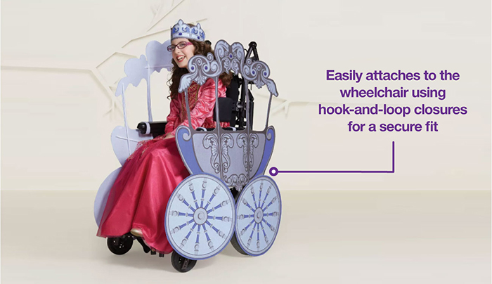 princess wheelchair costume