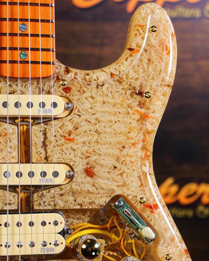 ramen noodle electric guitar cooper guitars