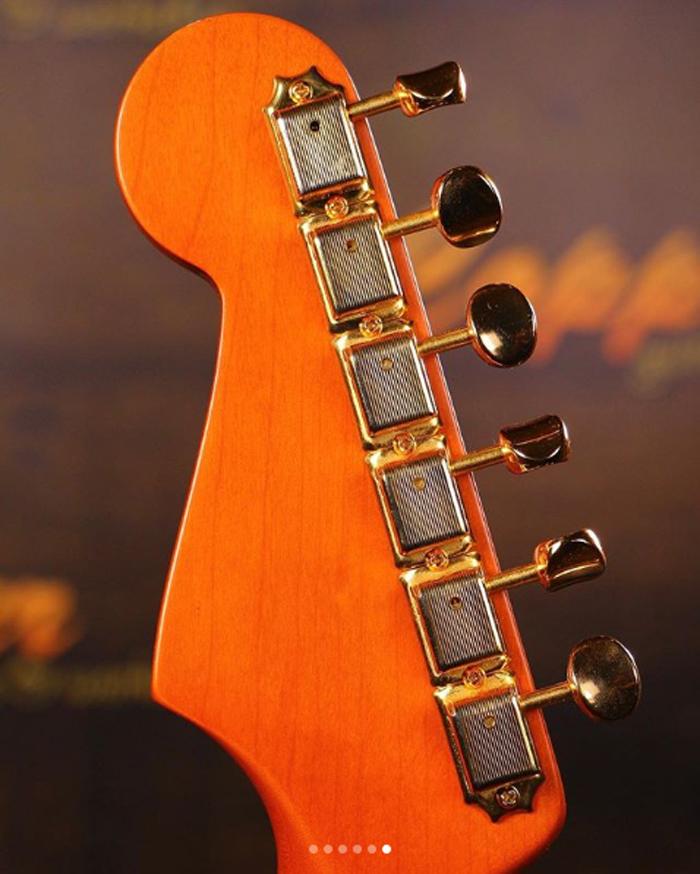 ramen noodle electric guitar neck