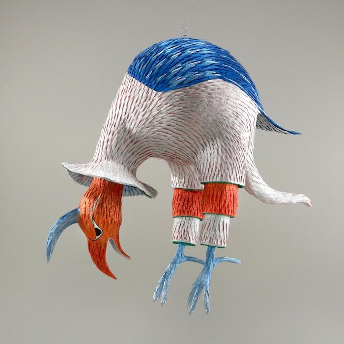roberto benavidez pinatas curved bird