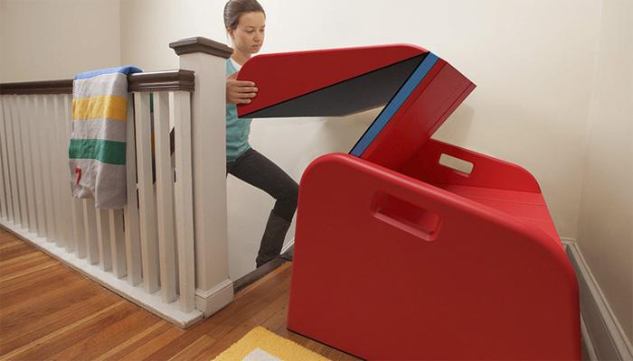 sliderider trisha cleveland concept foldable foam