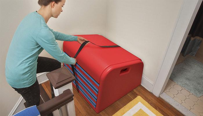 sliderider trisha cleveland concept storage strap