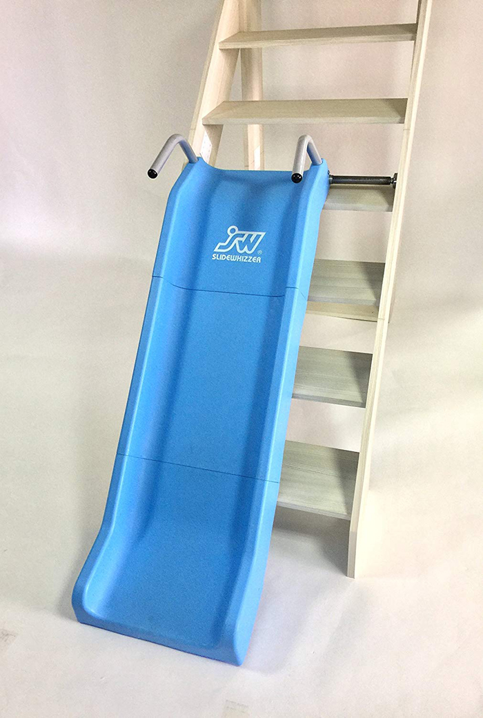 slidewhizzer indoor stair slide 3-sectioned shute
