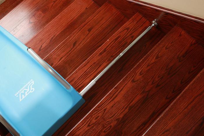 slidewhizzer indoor stair slide adjustable bar