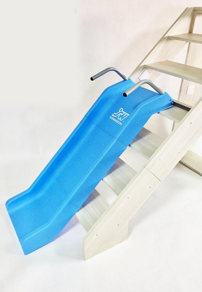 slidewhizzer indoor stair slide playground