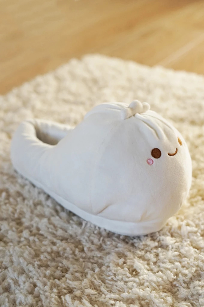 smoko heated dumpling slippers side