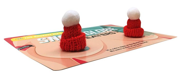 snow globe nipple sweaters knitted mini cap