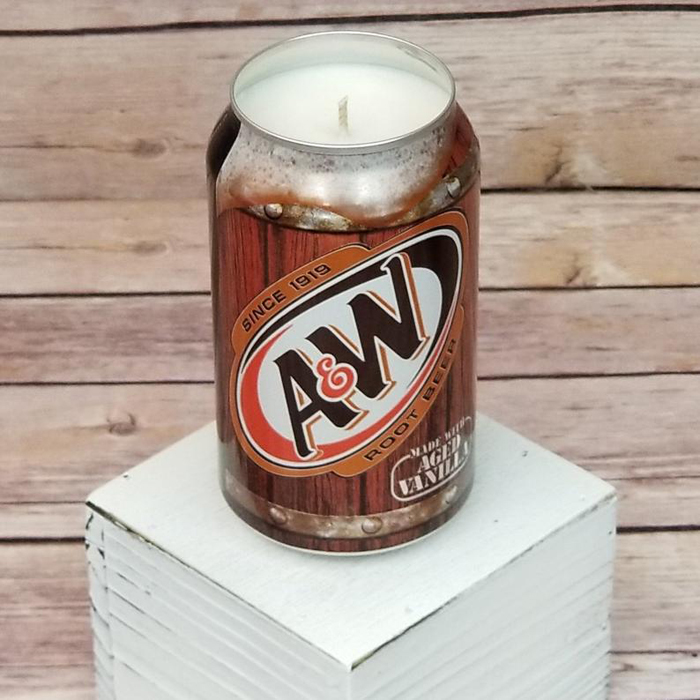 soda drink candles aw root beer