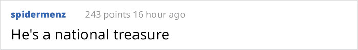 spidermenz Reddit Comment