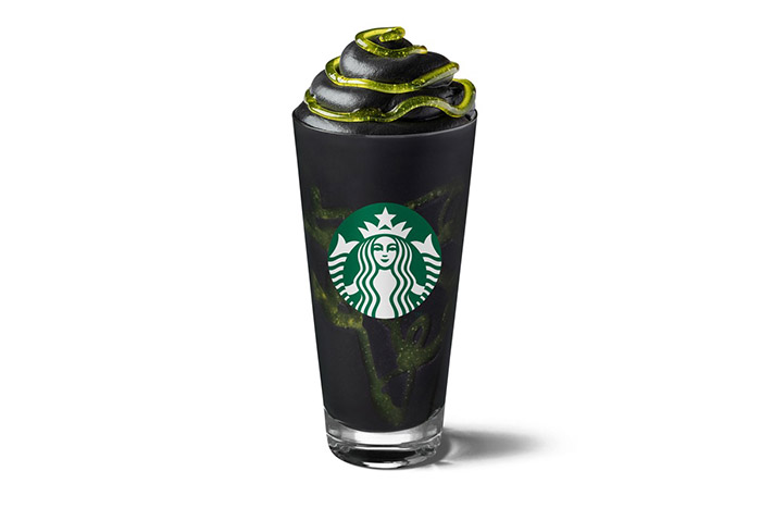Starbucks' Have Released A Spooky Phantom Frappuccino For Halloween