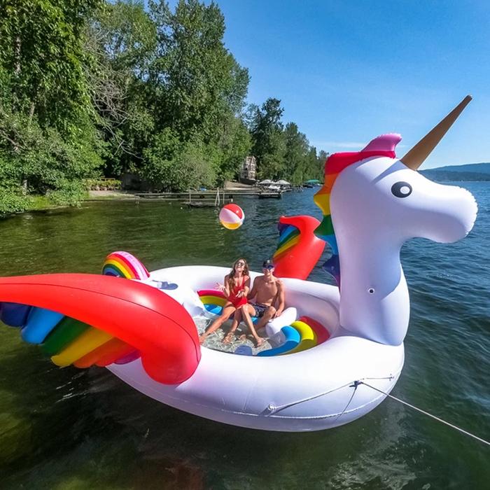 sun pleasure giant inflatable unicorn