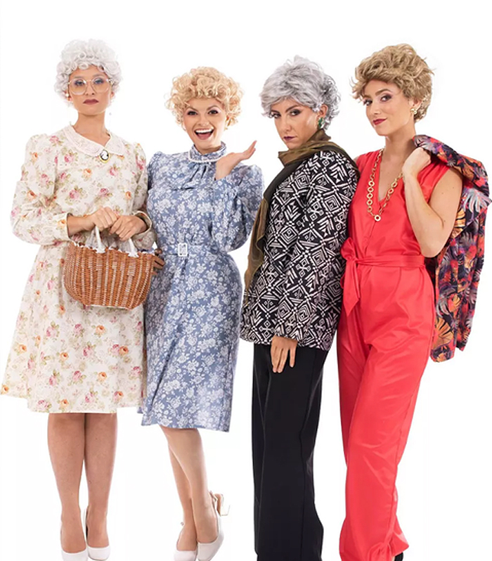 target the golden girls costumes