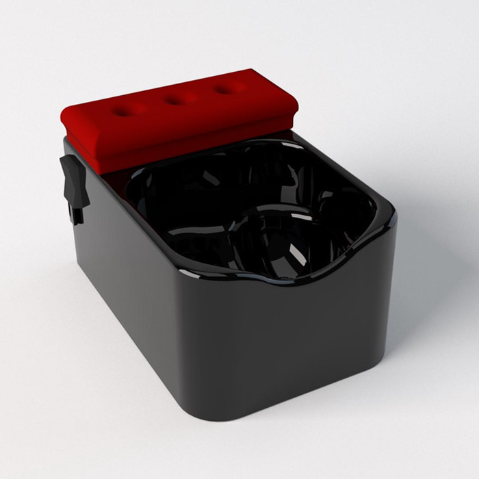 testicuzzi jacuzzi for the nuts jet black edition