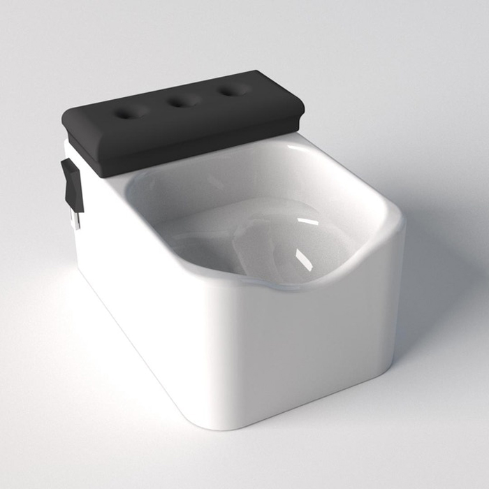 testicuzzi jacuzzi for the nuts white edition