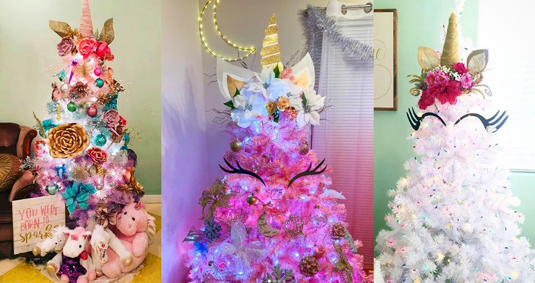 Unicorn Trees Are This Year S Trend Making Christmas Even