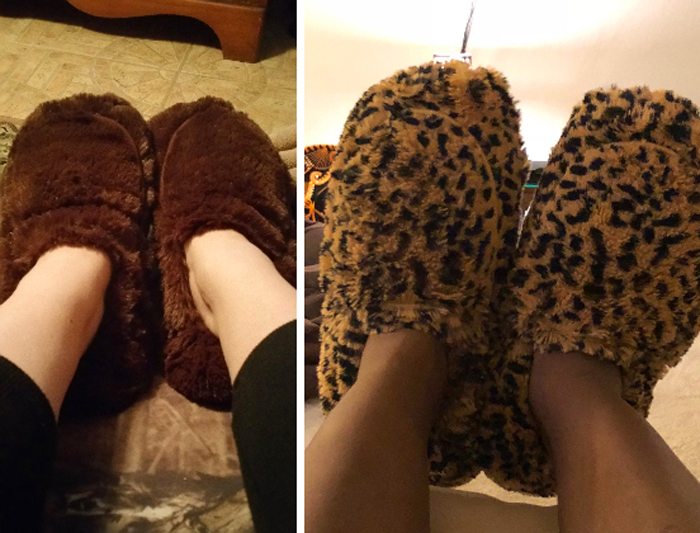 warmies microwavable slippers customer photos
