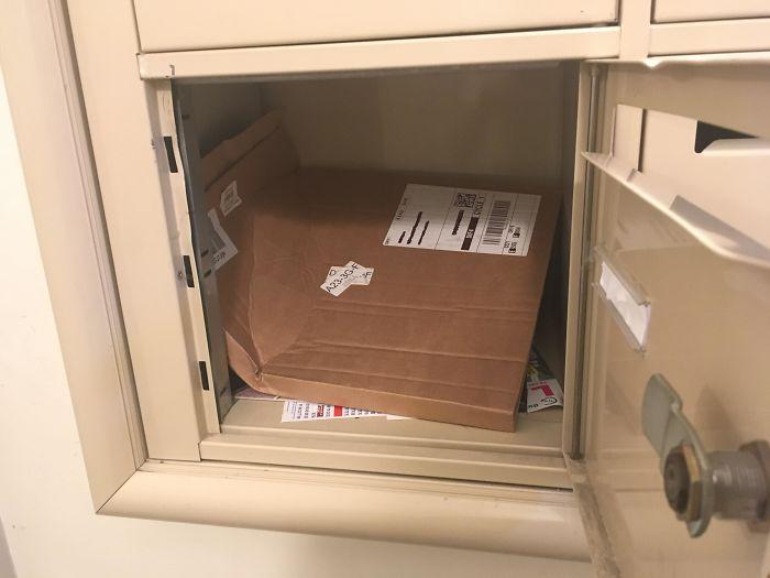worst delivery drivers broken vinyl