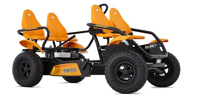 4-seater go-kart electric