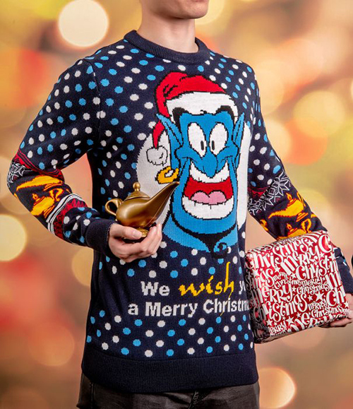 Aladdin Ugly Disney Christmas Sweater for Men