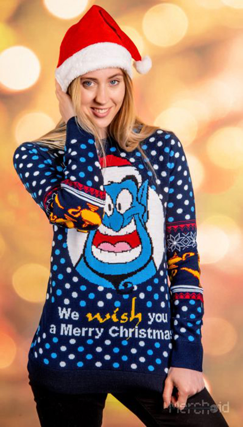 Aladdin Ugly Disney Christmas Sweater for Women