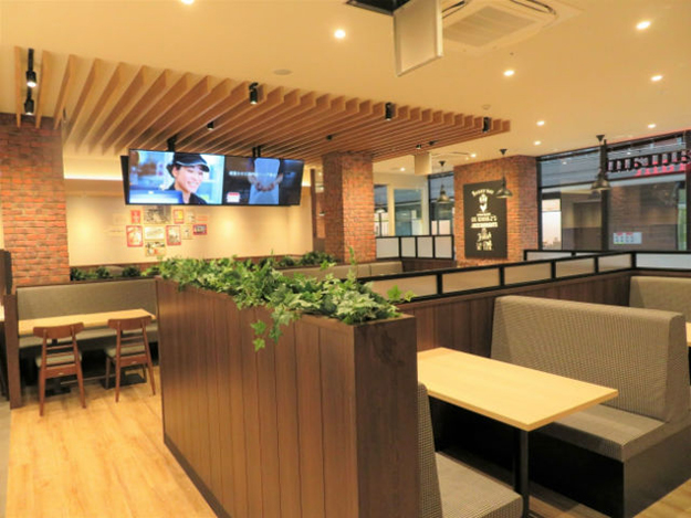 All-You-Can-Eat KFC dining area