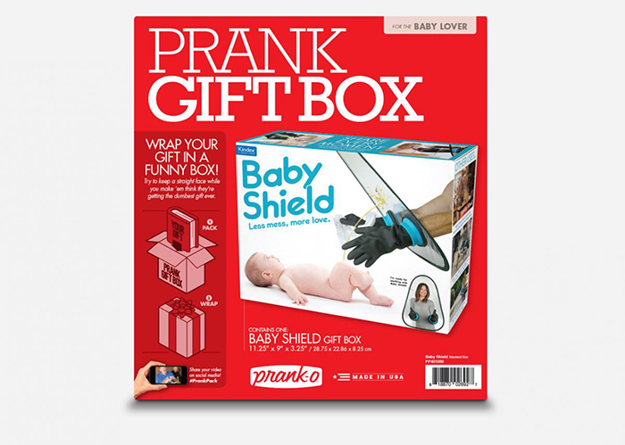 Baby Shield Prank Gift Box Packaging