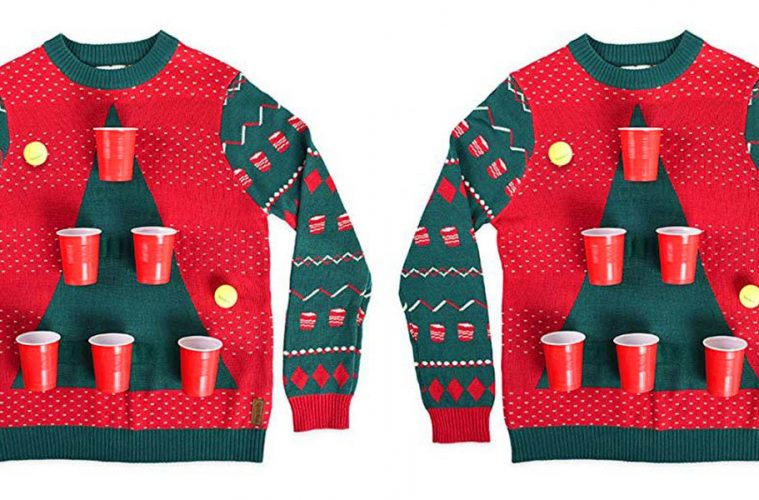 Beer pong sweater