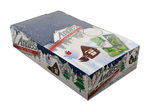 Box of 24 Andes Creme de Menthe Christmas Trees