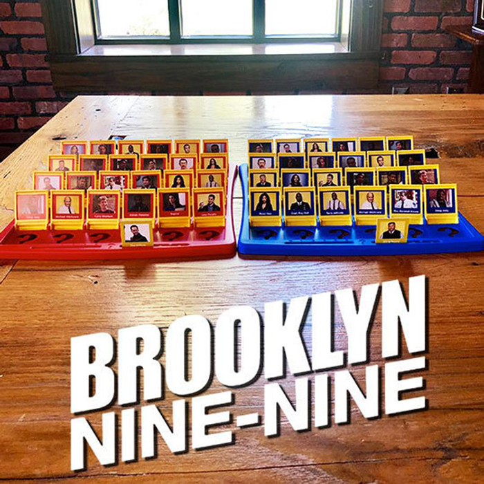 Brooklyn Nine-Nine Guess Who Board Game