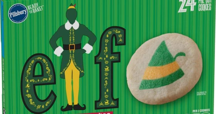 Buddy The Elf-Themed Sugar Cookie