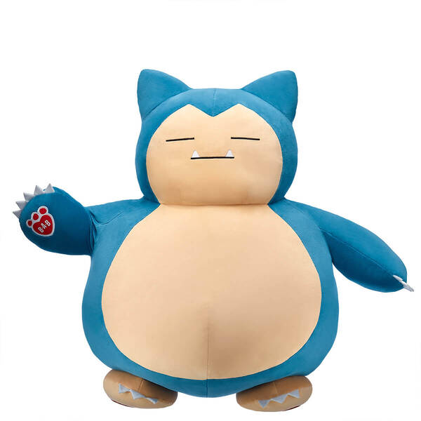 Build-A-Bear's Snorlax undressed
