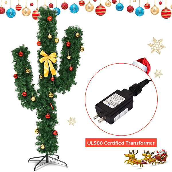 Cactus Christmas Tree Power Input